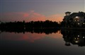 Sunset at Celebration Village Florida