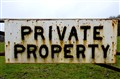 Private Property!
