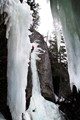 Ice Climbing at Marble Canyon