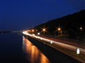 Dnepr river at night