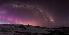 Aurora's, Science and the Milky Way
