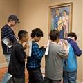 Kids at Art Institute, Chicago