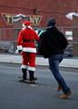Santa's skateboard?