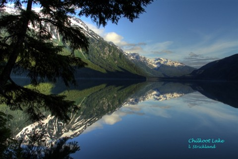Chillkoot lake Haines Alaska