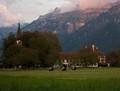 Interlaken - view from Hoheweg