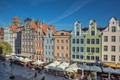 Dlugi Targ Street, Gdansk Old Town, Poland