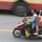 Motorbike to work