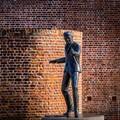 Billy Fury sculpture, at Albert Dock, Liverpool