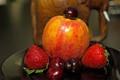 Fruit Plate before Elephant