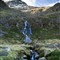 Waterfall near Llyn Llydaw