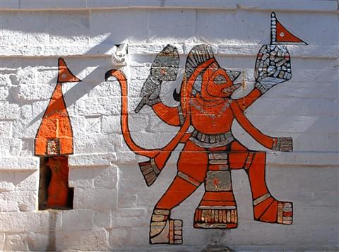 Jaisalmer Mural