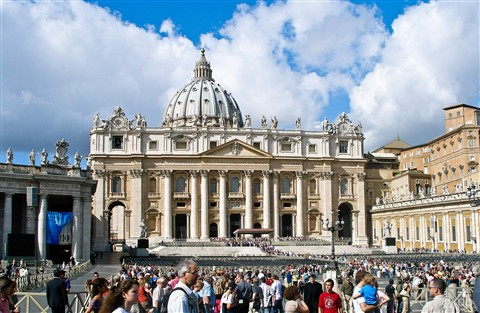 Italy - Rome - St. Peter's Basilica - Vatican City