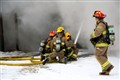 Structure Fire @ -30C