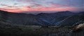 Sunset over Feathertop panorama