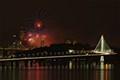 San Francisco New Year's Eve Fireworks / Bay Bridge