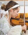 Violinist, Trieste, Italy - Emotion: tenderness