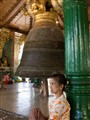 Bell of Shwedagon pagoda