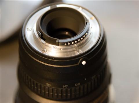 nikon 18-35G lensmount