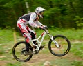 Downhill Mountain Biker