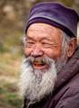Old man in Bhutan
