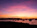 Sunset in Jonesport, Maine.