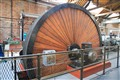Early Steam powered electric generator wheel