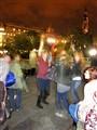 Scottish Folk dancing in the street