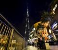 Night Shot of Burj Khalifa, Dubai, United Arab Emirates