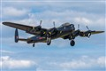 Lancaster bomber at the 2010 Waddington Airshow