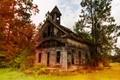 Abandoned church outside Dalton, GA