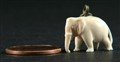 Ivory elephant and penney