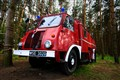 Old polish firetruck