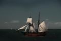Enterprize under sail