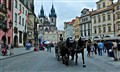 Prague - Horses and Carriage