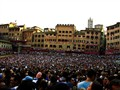 Filling the Compo in  Siena for the Palio