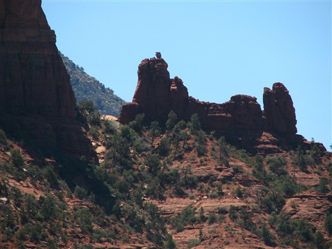 Snoopy Rock, Old Creek Canyon, Sedona, Arizona