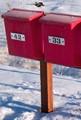 Rural mailboxes near Porvoo, Finland