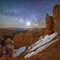 """Navajo Trail at Night"""