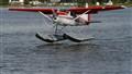 Landing on Lake  Hood