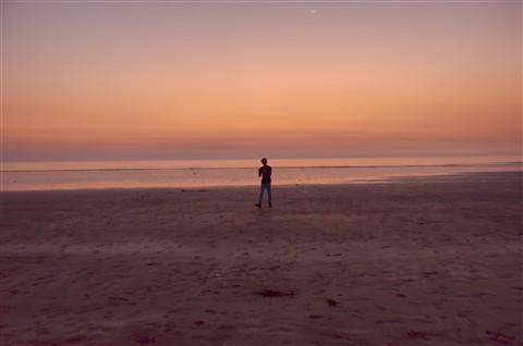 Sunset on Dandi Beach