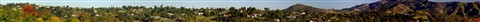 Panorama From Hill in Kit carson Park