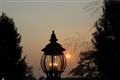 Night lamp at Vernon Hills, IL, USA