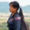One of the all-female MAG UXO sweeping team R1009152 Plain of Jars UXO