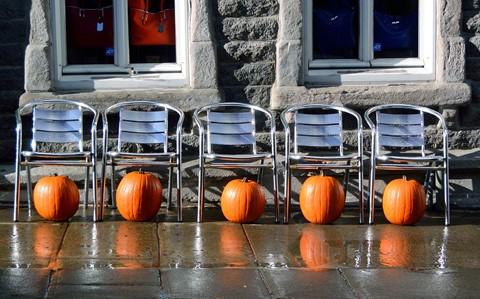 Pumpkins, Quebec City.