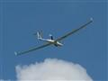 DG 808 during take off at LOGO