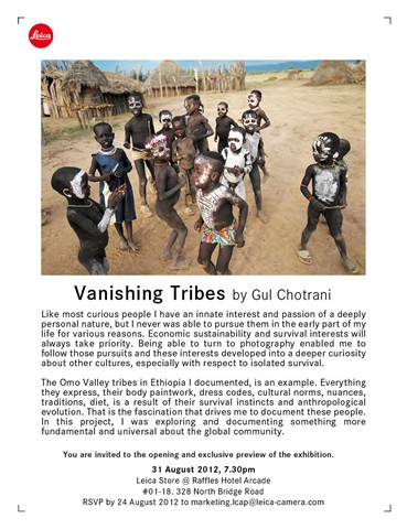 Vanishing tribes