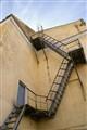 Пожарная лестница. Старая Москва.