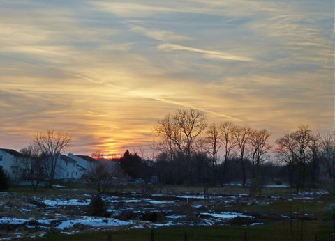 Sunset Jan 5,2013