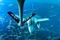 F-16 refuelling