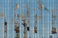Crane reflections Berlin